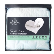QuiltGuard Cotton Mattress Protector