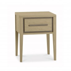 Rimini 1 Drawer Bedside Table