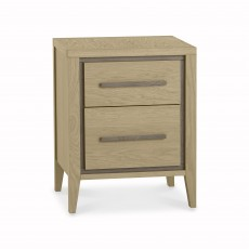Rimini 2 Drawer Bedside Table