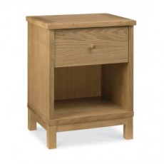 Atlanta 1 Drawer Bedside Table