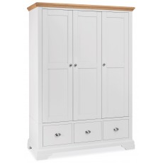 Hampstead Triple Wardrobe