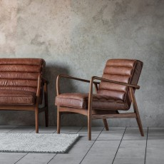 Gallery Datsun Leather Chair