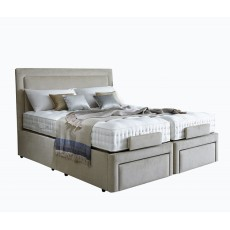 Vispring Sapphire Adjustable Bed with Recliner Elite mattress