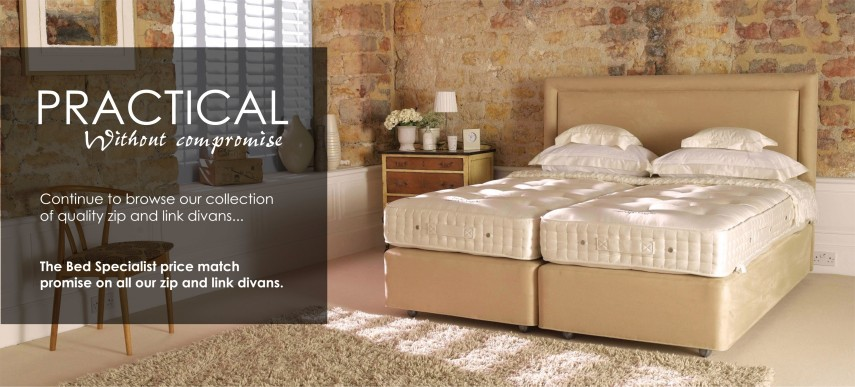 Zip and Link Divan Beds