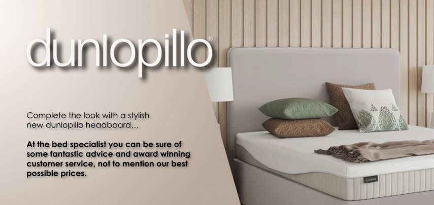 Dunlopillo headboards