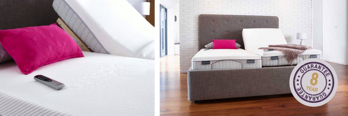Dunlopillo Adjustable Bed with Firmest mattress