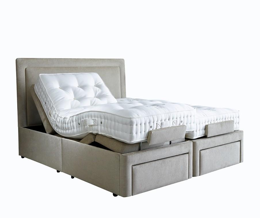 1d1d36145d68 Vispring Sapphire Adjustable Bed with Recliner Elite mattress - Adjustable  Beds - The Bed Specialist