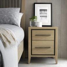 Austin 2 Drawer Bedside Table