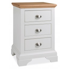 Hampstead 3 Drawer Bedside Table
