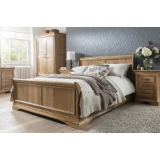 Annecy Sleigh Bed