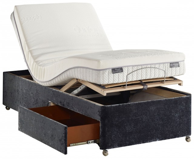 Dunlopillo Adjustable Bed with Royal Sovereign Mattress
