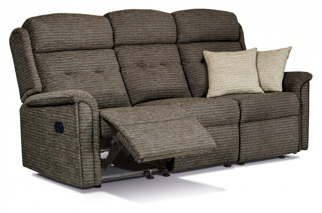 Sherborne Roma 3 Seater Manual Reclining Sofa
